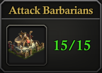 Daily Activity Points - Attack Barbarians.