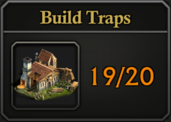 Daily Activity Points - Build Traps.