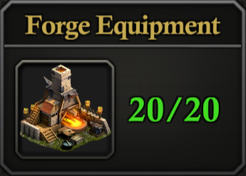Daily Activity Points - Forge Equipment.
