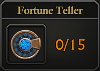 Daily Activity Points - Fortune Teller.