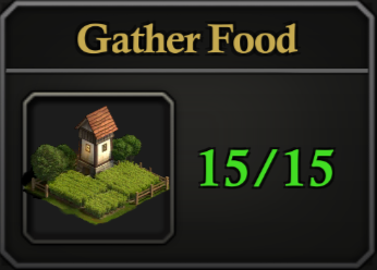 Daily Activity Points - Gather Food.