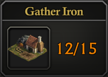 Daily Activity Points - Gather Iron.