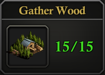 Daily Activity Points - Gather Wood.