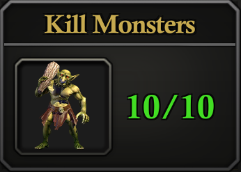 Daily Activity Points - Kill Monsters.
