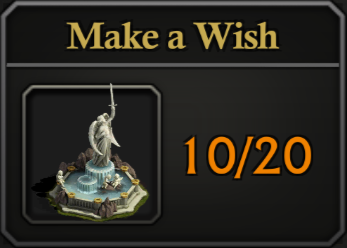 Daily Activity Points - Make a Wish.