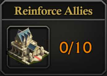 Daily Activity Points - Reinforce Allies.
