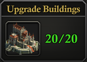 Daily Activity Points - Upgrade Buildings.